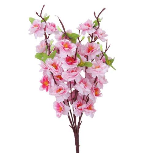 2-pcs-1614-artificielle-printemps-fleur-de-pecher-pulverisation-soie-branche-darbre-de-fleur-rose