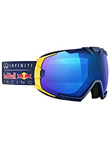 Masque de ski pour homme red bull racing eyewear rascasse matte bleu marine