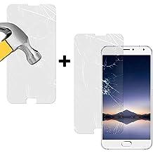 BeCool® - Pack [2 unidades] Cristal Templado Meizu Pro 5, Protector de Pantalla con [9H Dureza][Alta Definicion]