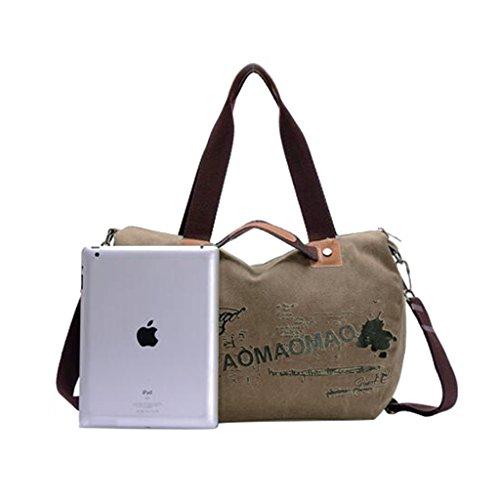 Lifebe BG semplice Cool-Borsa a tracolla in tela, borsa blu Cachi