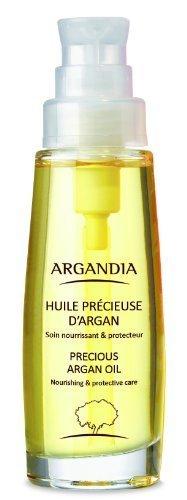 Ursprünglich reines Arganöl, BIO zertifiziert und fair gehandelt, als natürlich pflegendes Haaröl, von ARGANDIA (15 ml)