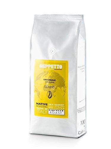 GEPPETTO Originale 100% Arabica Kaffeebohnen 1kg | italienischer Caffè | ganze Bohnen |...
