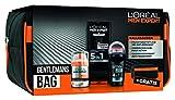 L'Oréal Men Expert Gentlemans Bag – Soin hydratant et gel douche à rouler avec sac de toilette