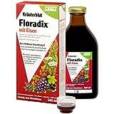 Salus Floradix sangàbasedeplantes, 3-pack (3 x 500 ml)