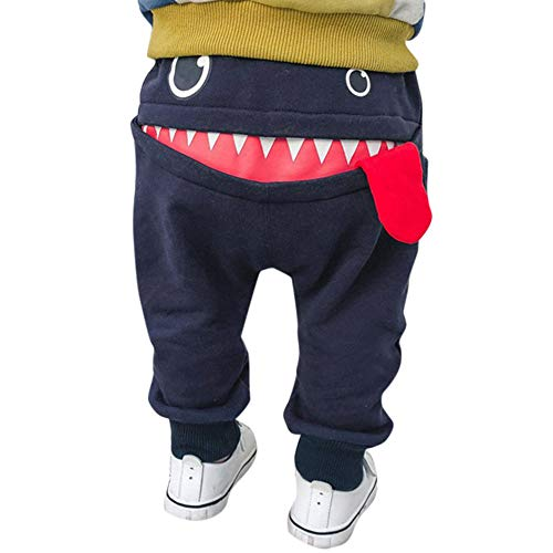 Zylione Kinder Hosen Boy Baby Shark Big Tongue Pluderhosen Hosen Kindertagesgeschenk Big Boys Pants