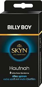 Billy Boy pelle vicino lattice extra Moist preservativi,  pezzi