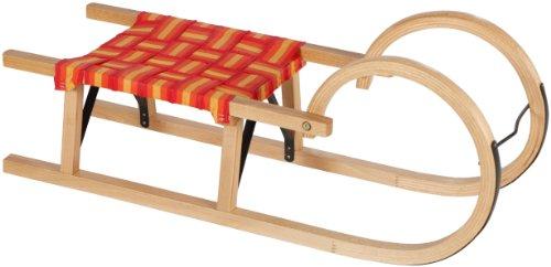 Larix Hörnerrodel 110 W/ Textile Seat, holzfarbe natur, 10191