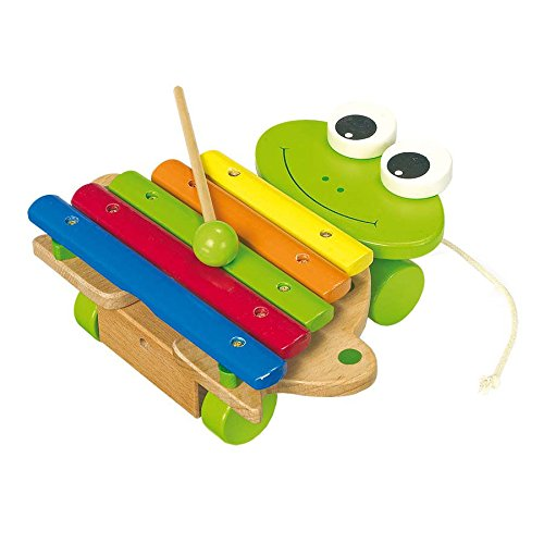 Small Foot Company 7565 - Musikinstrument - Xylophon - Frosch
