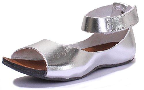 Justin Reece 7020, Sandali donna Silver GF1