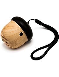 Mini-Bluetooth-Lautsprecher, kabellos, tragbar, Nuss-Design, mit Schlaufe, für iPhone / iPad / Android usw.