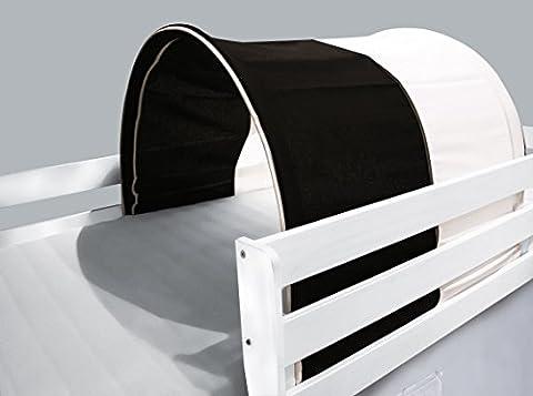 Tunnel / cave for Loft / Game Bed Pirat White / Black - TSG-48