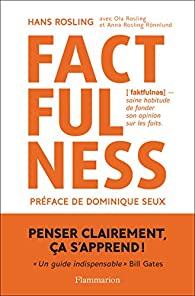 Factfulness par Hans Rosling