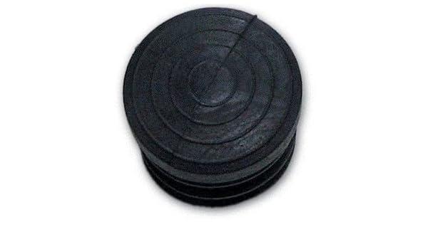 100 Pz colore Nero Conf Puntale Gommino Interno Tondo misura 18 mm