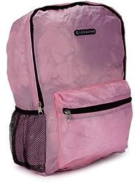 Giordano False 17.27 Ltrs Pink Nappy Bag (GAA-9012 Pink)