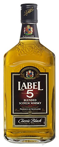 Label 5 Classic Black 40% 0,5l Blended Scotch Whisky