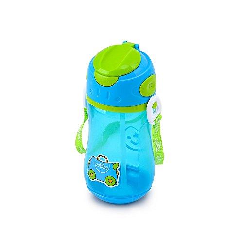 Trunki Cantimplora infantil con pajita y correa -