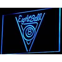 Insegna al neon i773-b Eight Ball Billiards
