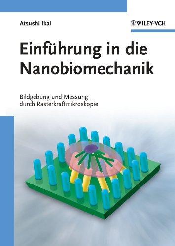 anobiomechanik: Bildgebung und Messung durch Rasterkraftmikroskopie (Flüssigkeit Messung)