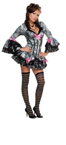 Rubie's Karneval Damen Kostüm French Kiss im Barock Stil zu Fasching Größe ()