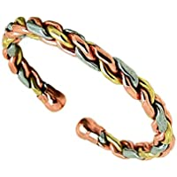 Magnetic Copper Brass Aluminium Twist Bracelet 36M - Delicately Hand-Crafted and Superbly Finished - in the UK... preisvergleich bei billige-tabletten.eu