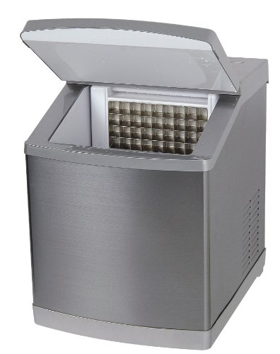 416U3YGV FL - 4045 Ice Age - Ice Maker - Stainless Steal - 20 KG - Manual Filling and External Water Supply - Clear Ice Cubes