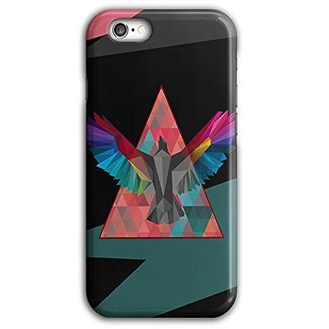 Géométrique Oiseau Mode Oiseau Vol 3D iPhone 6 Plus / 6S PlusÉtui Pour | Wellcoda