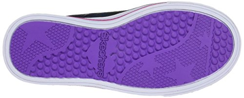 Skechers Step Up, Sneakers Basses Fille Noir (BKHP)