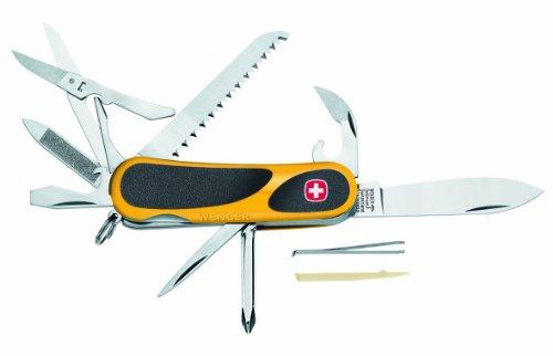 Wenger Original Schweizer Taschenmesser EvoGrip 18, gelb