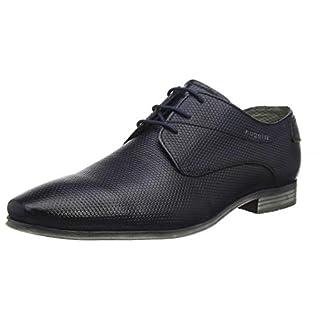 bugatti Herren 311420092100 Derbys, Blau (Dark Blue 4100), 42 EU