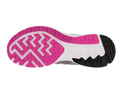 Nike Wmns Zoom Winflo 3, Chaussures de Running Entrainement Femme gris - Gris (Cl Gry / Pnk Blst-Anthrct-Wlf Gr)