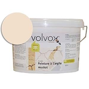 Peinture murale à l'argile tiramisu 5L, Volvox