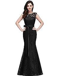 8beaf5373806 MisShow Robe Femme Elégante de Demoiselle d honneur pour Mariage Soirée  Moulante Sirène Longue avec