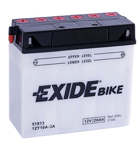 EXIDE Motorrad Batterie 12V 19Ah 170A 12Y16A-3A