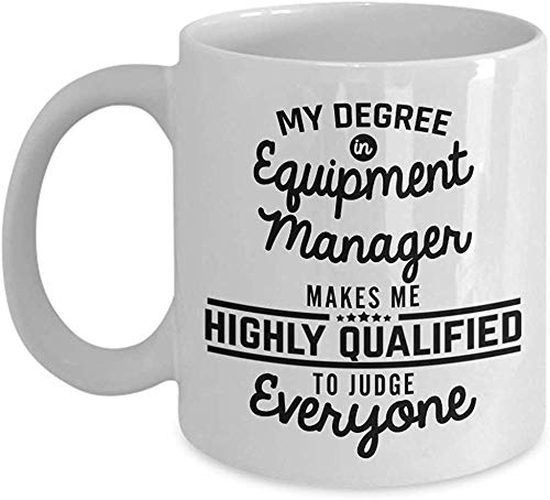 Equipment Manager Coffee Mug Project Manager 11 Oz Ceramic Tea Cup stmas Present