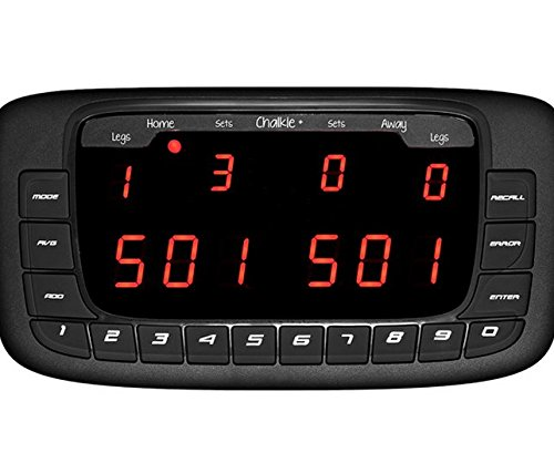 Dartsmate Chalkie Plus +, Electronic Darts Anzeigetafel Scorer