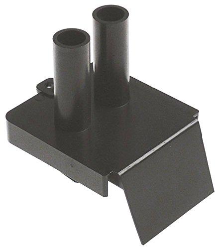 Abdeckung für Ablaufwanne ABS Kunststoff passend für Bezzera für Espressomaschine Breite 75mm...