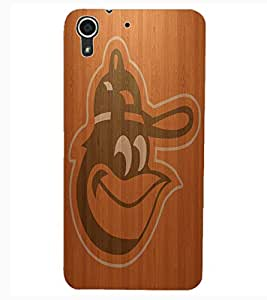 ColourCraft Wood background Design Back Case Cover for HTC DESIRE 626G+