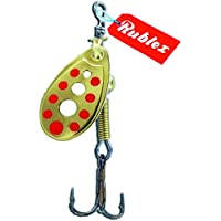 RUBLEX - 5 Cucharillas de pesca C-TURBO-0 OPR 1,50 gms.
