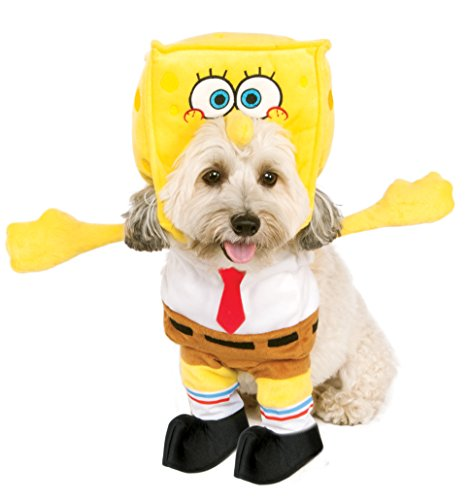 Rubies Costume Walking Spongebob Schwammkopf Pet Kostüm, -