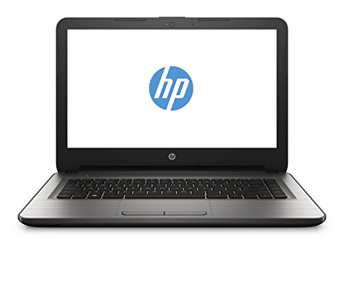 HP 14-am018nl Notebook, 14 pollici, Intel Celeron Dual-core N3060, Ram 4GB, HDD 32GB eMMC, Grafica Intel HD 400, Argento