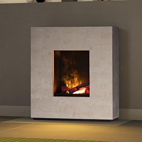 muenkel-Design-Lazio-Chimenea-elctrica-opti-myst-FOSSIL-Piedra-Pulido-negro-Simple-Base-CON-CALEFACCIN-con-Madera-Decoracin-MOTOR-56-600-L