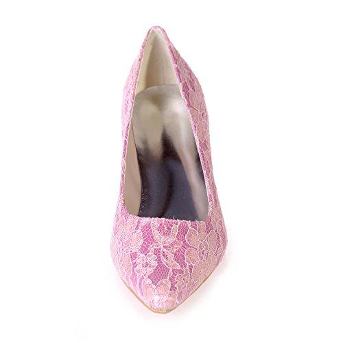 L@YC Chaussures De Mariage Pour Femmes & 0723-01A / SoiréE / VêTements Professionnels Pointus / Plus De Couleurs Disponibles pink