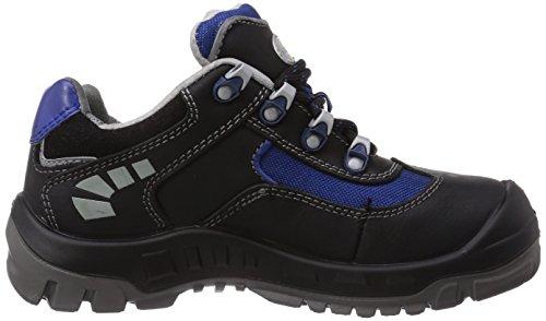 Wortec - Scarpe antinfortunistiche Jazek S2, Unisex - adulto Nero (Schwarz (schwarz/blau))