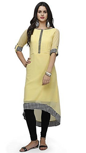 Impartus Lifestyle Women\'s Georgette Kurti_XL Size_
