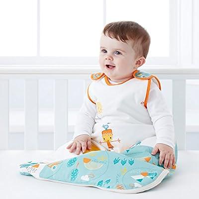 Gro Premium - Saco de dormir, 0-6 meses, diseño granja, tog 2.5