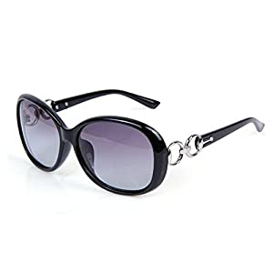 afb4aafc63 Daorier Polarised Sunglasses UV Protection Fashion Ladies Women Large Frame Sunglasses  Glasses Can Withstand the Purple
