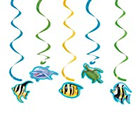 Creative Converting Ocean 5 Count Dizzy Danglers Hanging Party Decoration