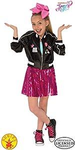 Rubies 640554S Jojo Siwa Bomber - Vestido para niña (talla pequeña)