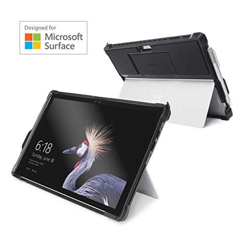 Kensington K97442WW BlackBelt Robuste Schutzhülle (für Surface Pro & Surface Pro 4 - Robuste Schutzhülle mit Handschlaufe) schwarz