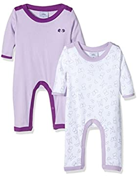 Twins Unisex Baby Schlafstrampler, 2er Pack